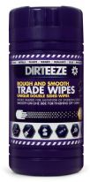 Dirteeze Rough & Smooth Trade Wipes - Pack 80